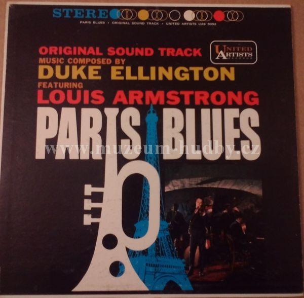 """Duke Ellington featuring Louis Armstrong: Paris Blues - Vinyl(33"""" LP)"""