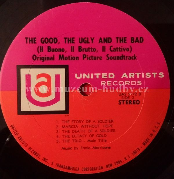 Ennio Morricone The Good The Bad And The Ugly Original