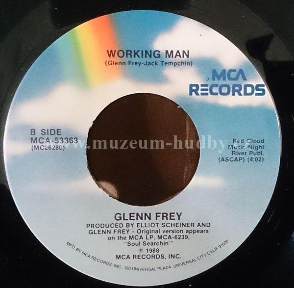 "Glenn Frey: True love / Working man - Vinyl(45"" Single)"
