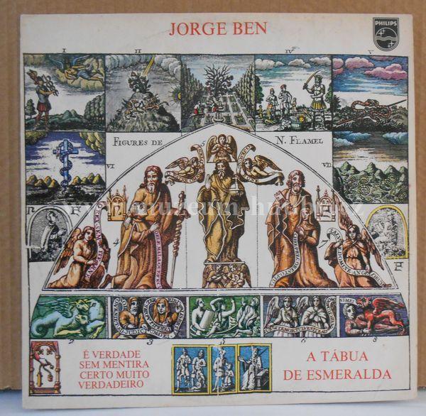 """Jorge Ben: A Tábua De Esmeralda [Emerald Tablet] - Vinyl(33"""" LP)"""