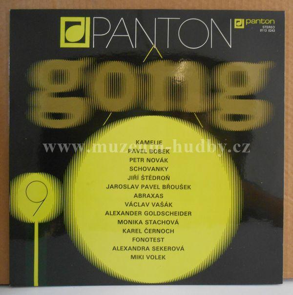 "Kamelie,Pavel Bobek a Groš,Petr Novák, G&B,Schovanky,Fonotest,Miki Volek: Gong 9 - Vinyl(33"" LP)"