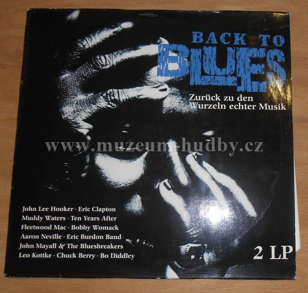 "Muddy Waters,Eric Clapton & Jimmy Page,Ten Years After: Back To Blues - Vinyl(33"" LP)"