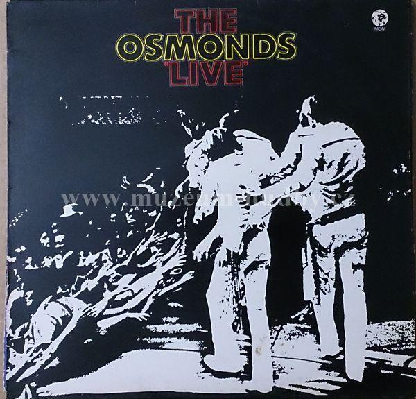 "Osmonds, The: Live - Vinyl(33"" LP)"