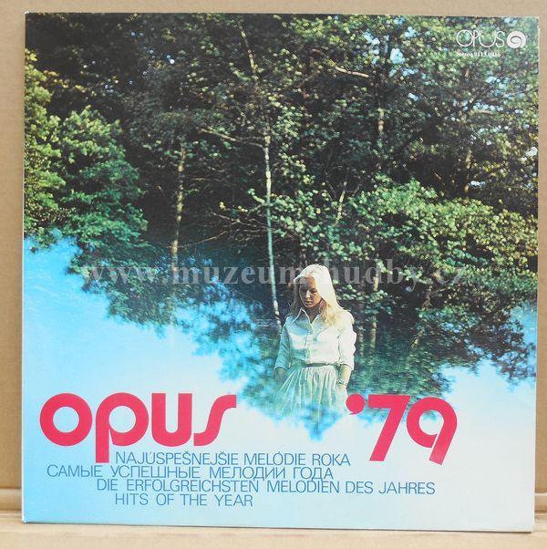 "Prognóza,Tuláci,Miroslav Žbirka,Jana Kocianová,Oľga Szabová: Opus '79 - Vinyl(33"" LP)"