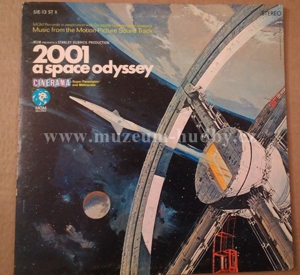 "Stanley Kubrick / Jesse Kaye: 2001 - A Space Odyssey (Music From The Motion Picture Soundtrack) - Vinyl(33"" LP)"