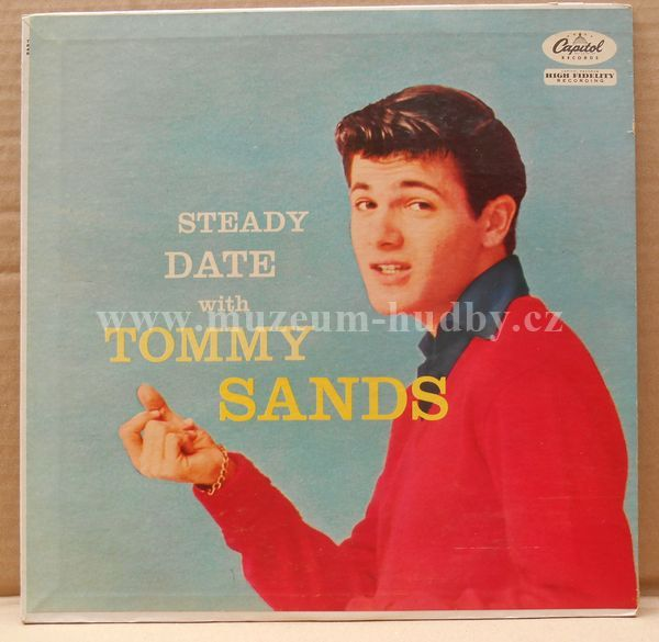 "Tommy Sands: Steady Date With Tommy Sands - Vinyl(33"" LP)"