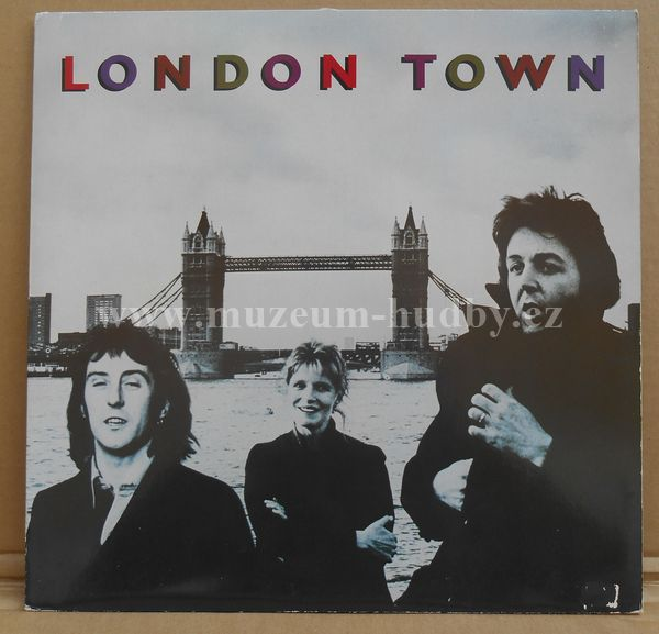 "Wings [Paul McCartney,Beatles]: London Town - Vinyl(33"" LP)"