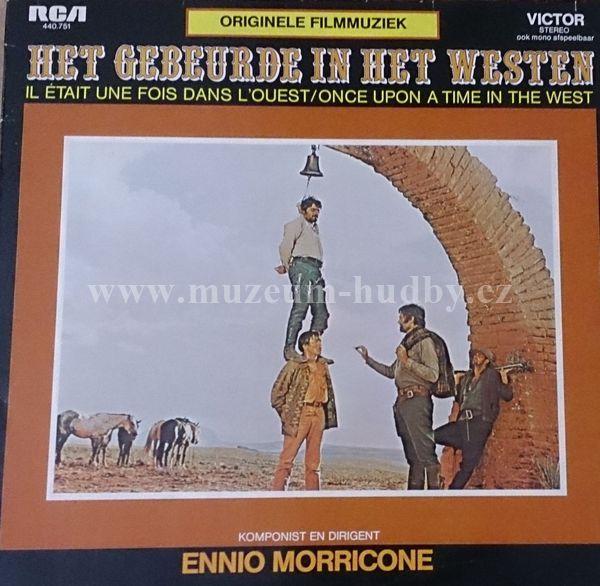 """Ennio Morricone: Het Gebeurde In Het Westen - Vinyl(33"""" LP)"""
