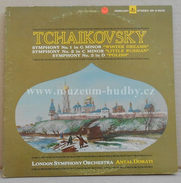 "Antal Dorati, London Symphony Orchestra / Tchaikovsky: Symphonies Nos. 1, 2, & 3 - Vinyl(33"" LP)"