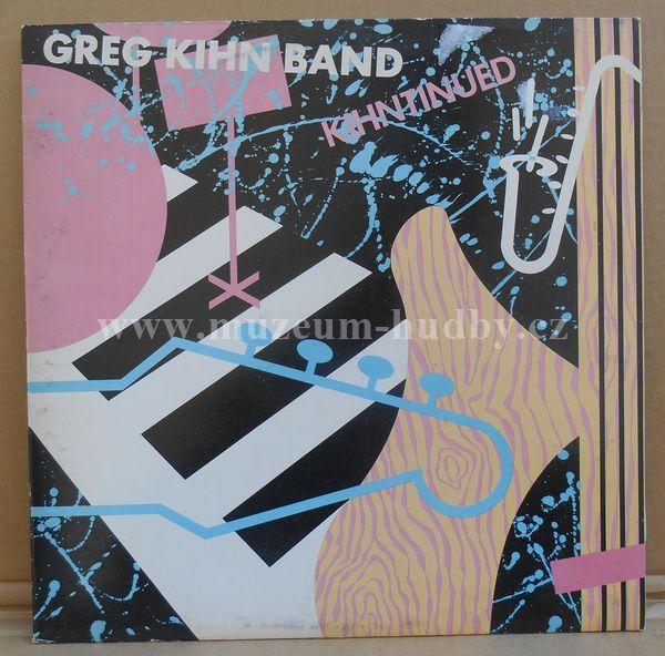 "Greg Kihn Band: Kihntinued - Vinyl(33"" LP)"