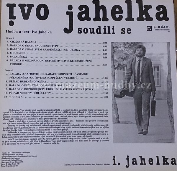 Ivo Jahelka - Ať Žije Spravedlnost!