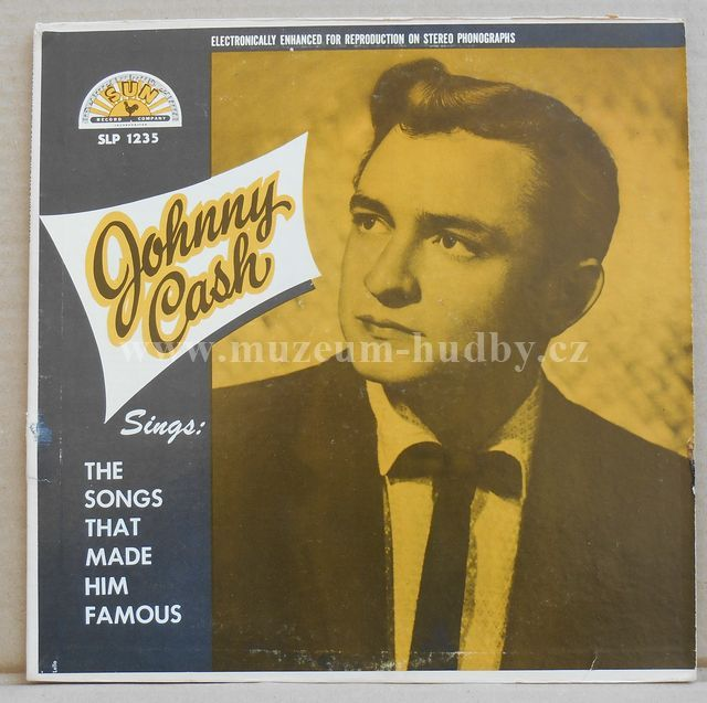 "Johnny Cash: Sings The Songs That Made Him Famous - Vinyl(33"" LP)"