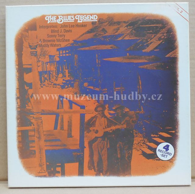 "John Lee Hooker,Blind J. Davis,Sonny Terry & Brownie McGhee,Muddy Waters: The Blues Legend Vol. 2 - Vinyl(33"" LP)"
