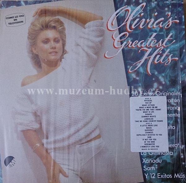 "Olivia Newton-John: Olivia's Greatest Hits - Vinyl(33"" LP)"