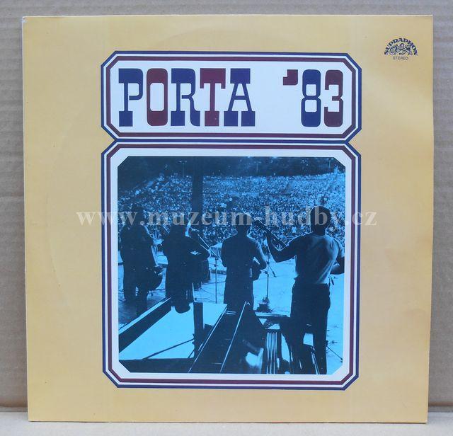 "Poutníci / Nerez / Karel Plíhal / Hop trop / Nezmaři / Máci / Stanislav Wabi Daněk: PORTA 83 - Vinyl(33"" LP)"