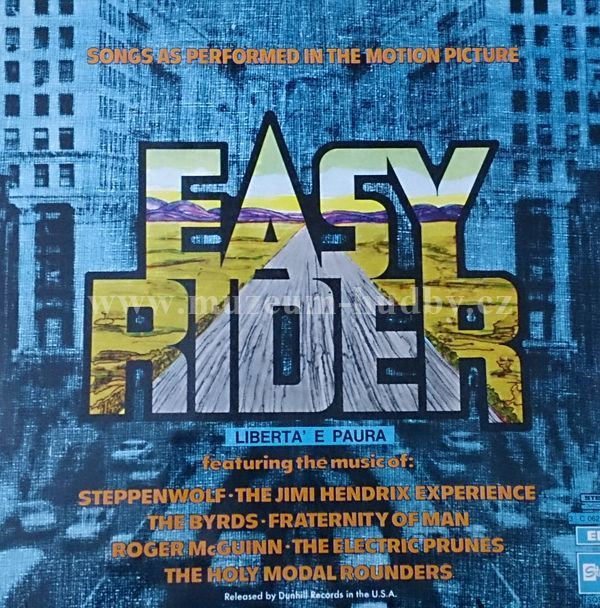 "Steppenwolf / Roger McGuinn / Smith / ...: Easy Rider - Songs As Performed In The Motion Picture - Vinyl(33"" LP)"