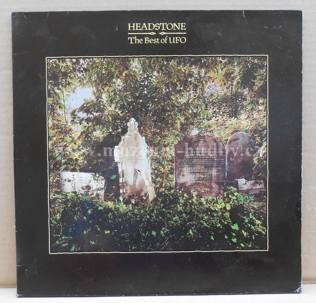 "UFO: Headstone / The Best Of UFO - Vinyl(33"" LP)"