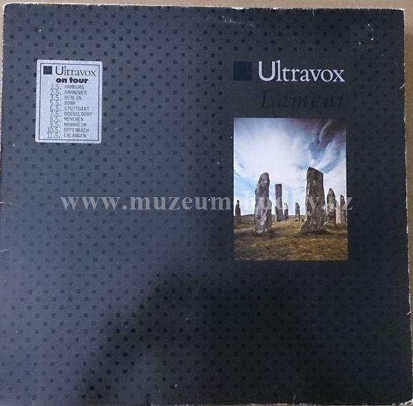 Ultravox Lament Online Vinyl Shop Gramofonov 233 Desky