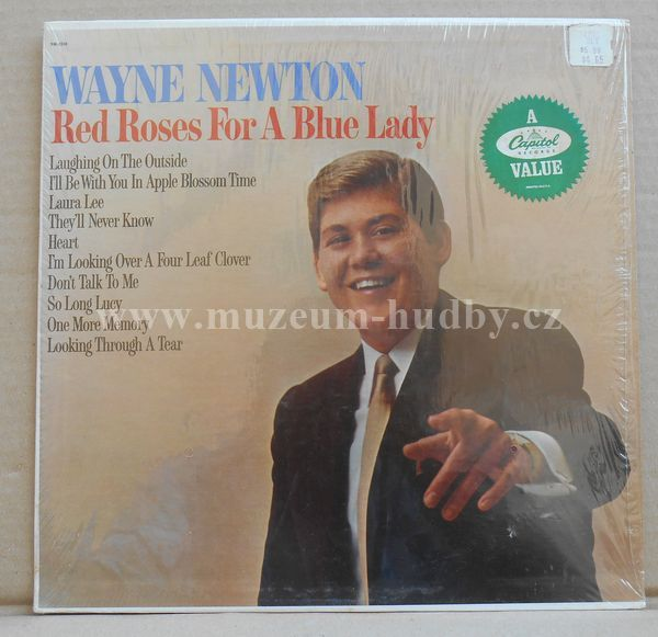 "Wayne Newton: Red Roses For A Blue Lady - Vinyl(33"" LP)"