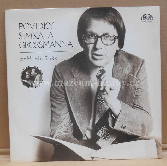 """Miloslav Šimek , Jiří Grossmann: Povídky Šimka A Grossmanna - Vinyl(33"""" LP)"""