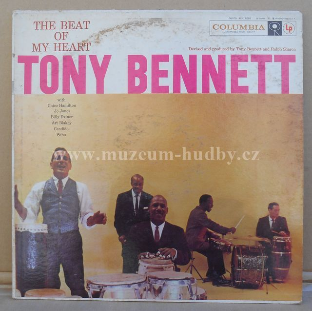"Tony Bennett: The Beat Of My Heart - Vinyl(33"" LP)"
