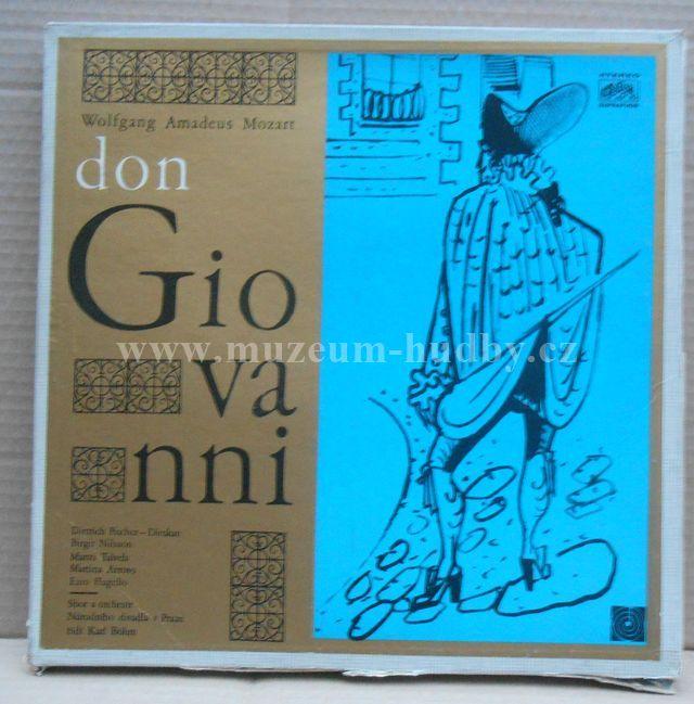 "W.A. Mozart: Don Giovanni - Vinyl(33"" LP)"
