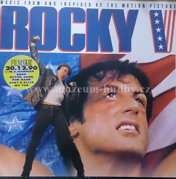 "Rocky V (Music From And Inspired By The Motion Picture): Rocky V (Music From And Inspired By The Motion Picture) - Vinyl(33"" LP)"