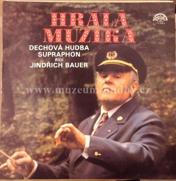 "Dechova hudba Supraphon: Hrala muzika - Vinyl(33"" LP)"