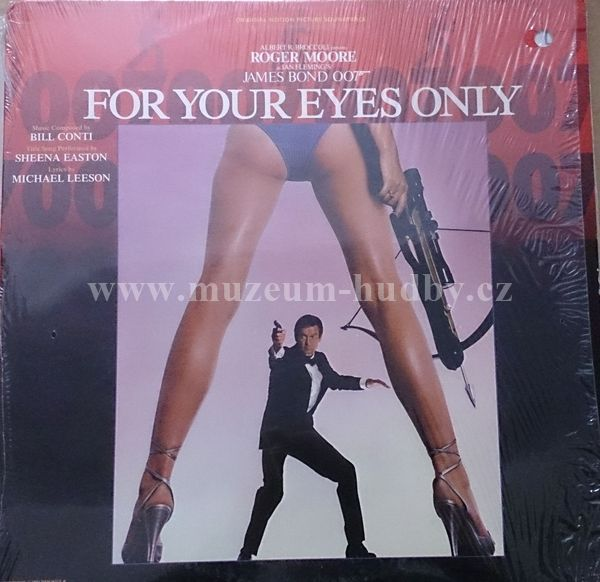 "For Your Eyes Only (Original Motion Picture Soundtrack): For Your Eyes Only (Original Motion Picture Soundtrack) - Vinyl(33"" LP)"
