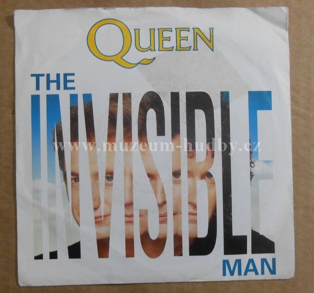 """Queen: The Invisible Man / Hijack My Heart - Vinyl(45"""" Single)"""