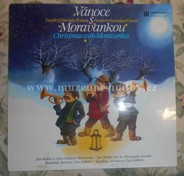 """Jan Slabák Se Svým Orchestrem Moravanka, Kantiléna, Ivan Sedláček: Fanfáry / Intrády / Koledy (Christmas With Moravanka - Fanfares / Intradas / Carols) - Vinyl(33"""" LP)"""