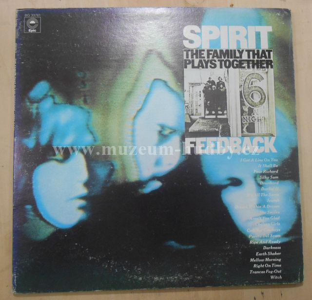 "Spirit: The Family That Plays Together / Feedback - Vinyl(33"" LP)"