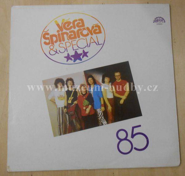 """Věra Špinarová & Special: 85 - Vinyl(33"""" LP)"""