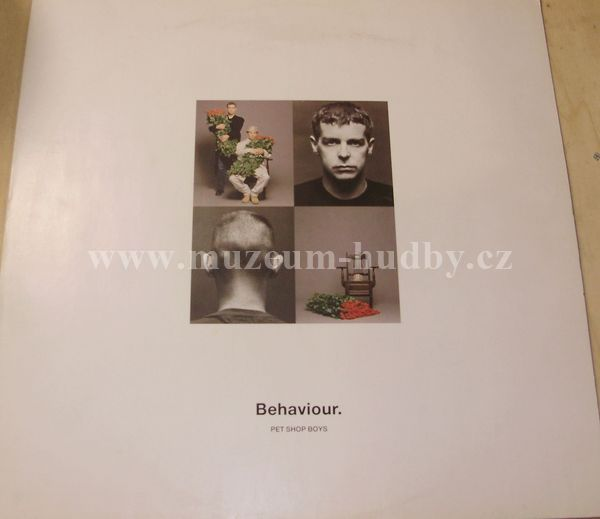 "Pet Shop Boys: Behaviour - Vinyl(33"" LP)"