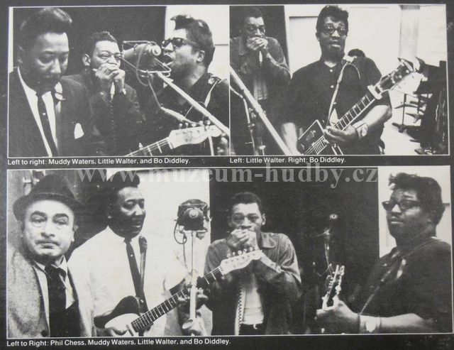 Bo Diddley Little Walter Muddy Waters Super Blues