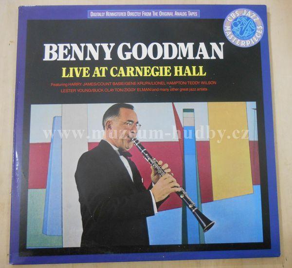 "Benny Goodman: Live At Carnegie Hall - Vinyl(33"" LP)"