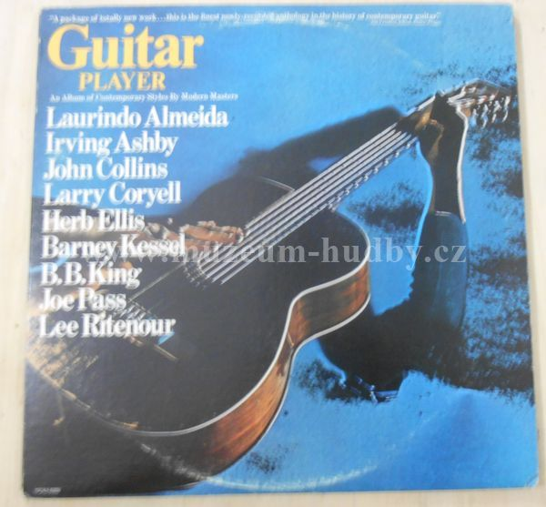 "B.B. King,Barney Kessel & Herb Ellis,Laurindo Almeida,Lee Ritenour: Guitar Player - Vinyl(33"" LP)"