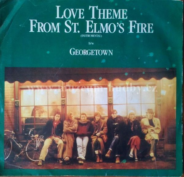 "David Foster: Love Theme From St. Elmo's Fire / Georgetown - Vinyl(45"" Single)"