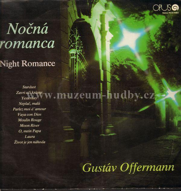 """Gustáv Offermann: Nočná romanca - Vinyl(33"""" LP)"""