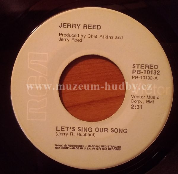 Jerry Reed - Let's Sing Our Song