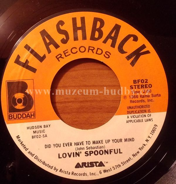 """Lovin' Spoonful: Did You Ever Have To Make Up Your Mind / Nashville Cats - Vinyl(45"""" Single)"""