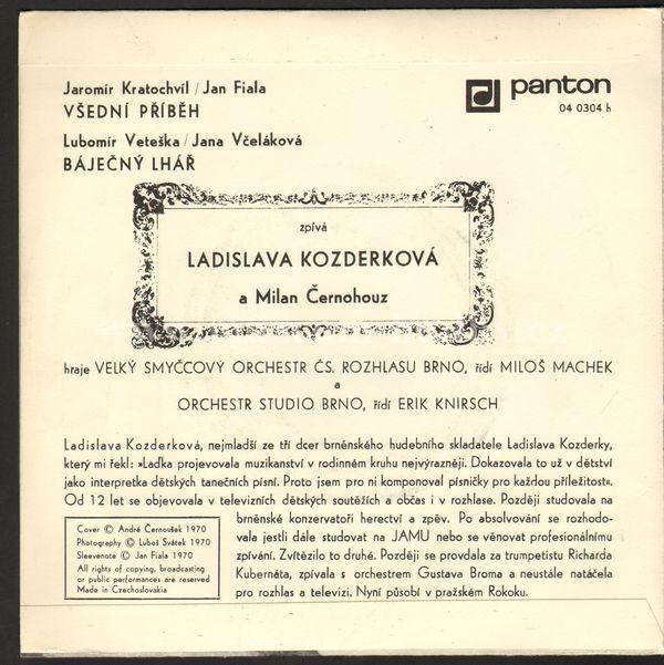 Ladislava Kozderková - Máří Magdaléna - Kde Je Ten Dům