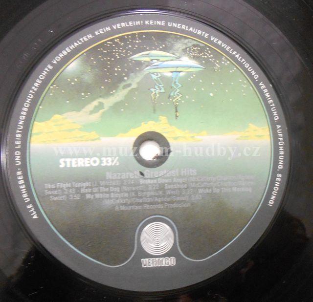 Nazareth Greatest Hits Online Vinyl Shop Gramofonov 233 Desky