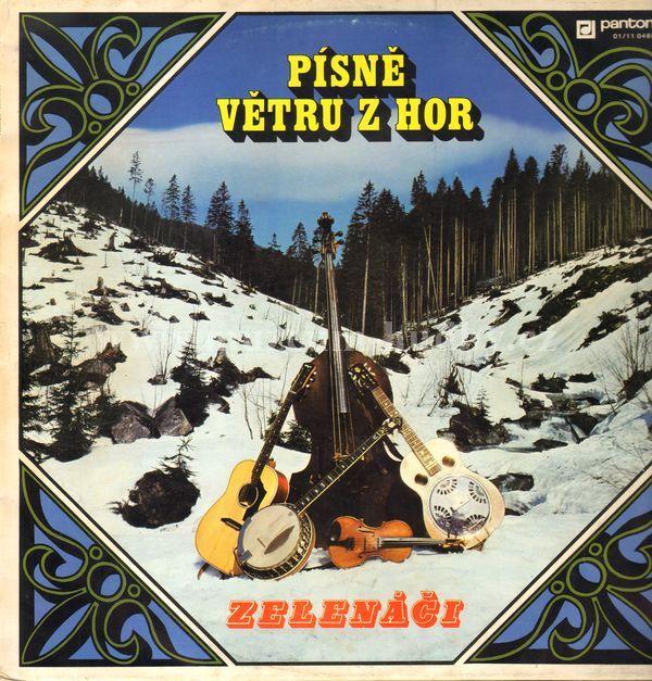"""Zelenáči: Písně Větru Z Hor - Vinyl(33"""" LP)"""