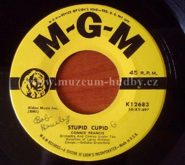 "Connie Francis: Stupid Cupid / Carolina Moon - Vinyl(45"" Single)"