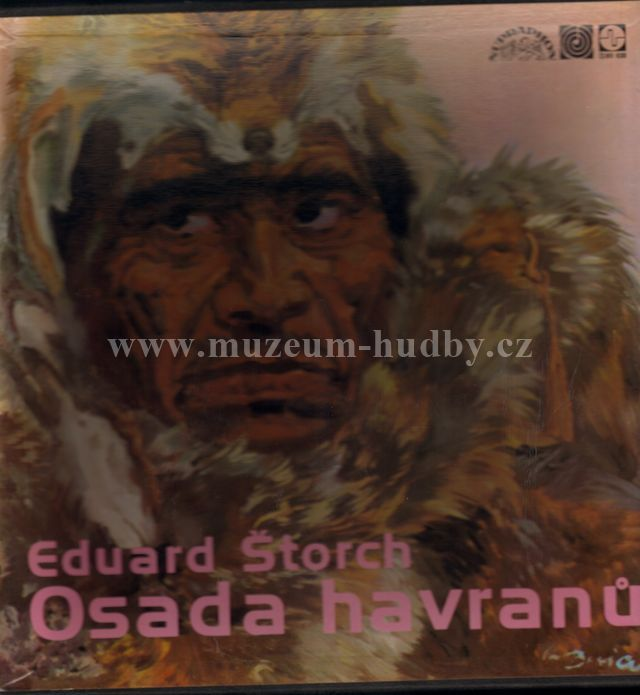 "Eduard Štorch / Stanisław Lem: Osada Havranů / Astronauti - Vinyl(33"" LP)"