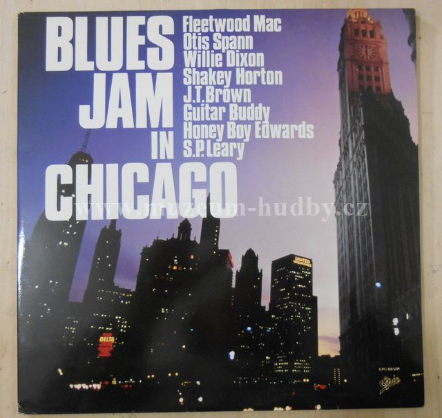 "Fleetwood Mac, Otis Spann, Willie Dixon, Shakey Horton, J.T. Brown, Guitar Buddy, Honey Boy Edwards, S.P. Leary: Blues Jam In Chicago - Vinyl(33"" LP)"