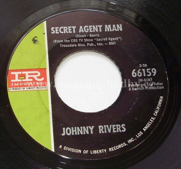 "Johnny Rivers: Secret Agent Man / You Dig - Vinyl(45"" Single)"