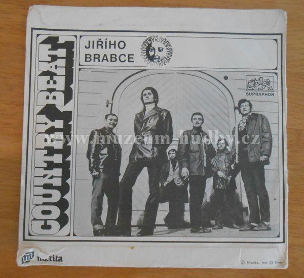 """Karel Kahovec/Country Beat Jiřího Brabce: To se budem prima mít/Háj modřínů - Vinyl(45"""" Single)"""