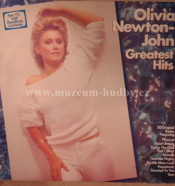 "Olivia Newton-John: Greatest Hits - Vinyl(33"" LP)"
